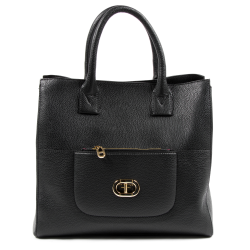 Dee Ocleppo Womens Shopper Bag P182 CERVO NERO